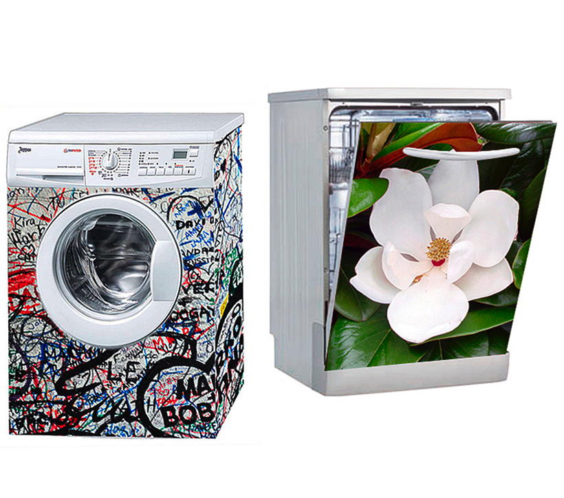lavatrici decorate corretto