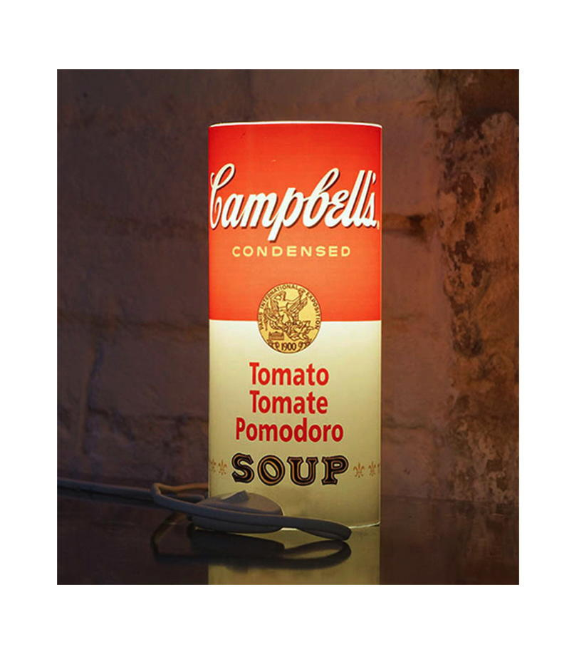Can Of Light Campbells Framed
