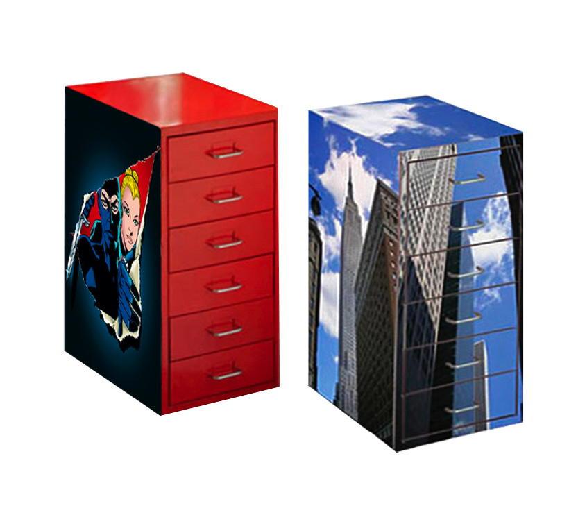 cassettiere rivestite corretto